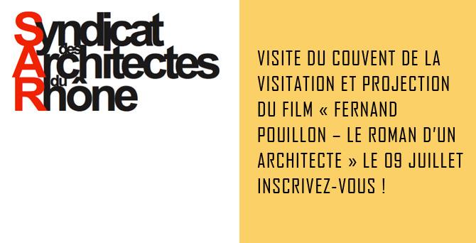 Visite Couvent de la Visitation - Axe Architecture