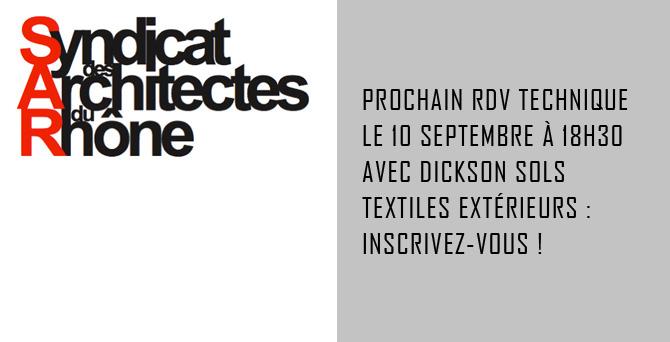RIT - Prescription DICKSON sols textiles extérieurs