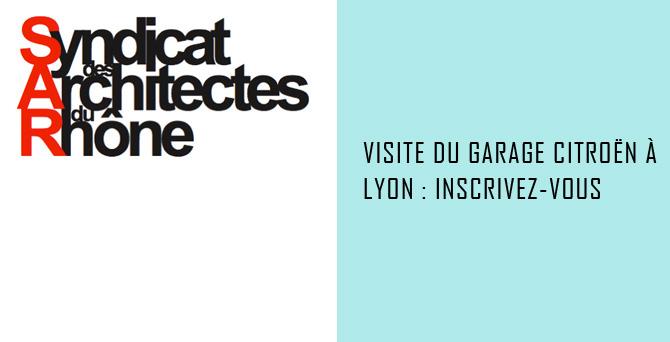 Visite du Garage Citroën à Lyon