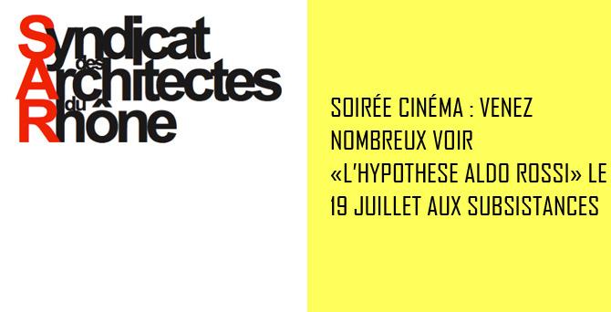 Soirée Cinéma 2017 @ Les subsistances