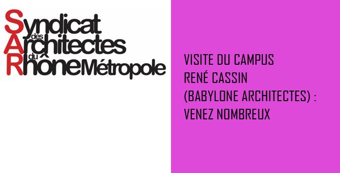 Visite Campus HEP René Cassin (Babylone Architectes)