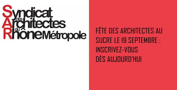 Soirée Fête des Architectes
